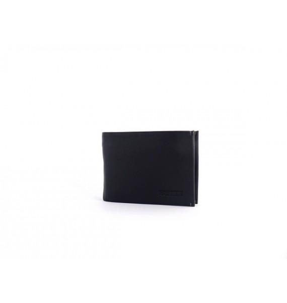 Мужской зажим-кошелек из натуральной кожи ТМ Hassion H-009