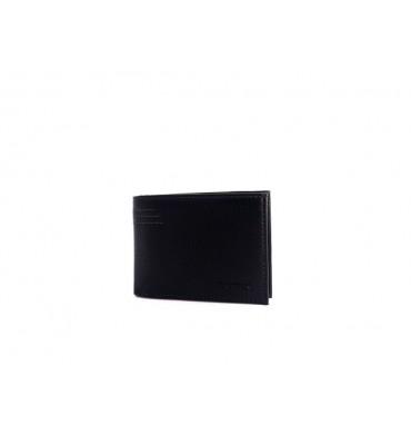 Мужской зажим-кошелек из натуральной кожи ТМ Hassion H-163