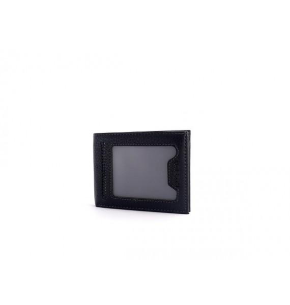 Мужской зажим-кошелек из натуральной кожи ТМ Hassion H-160