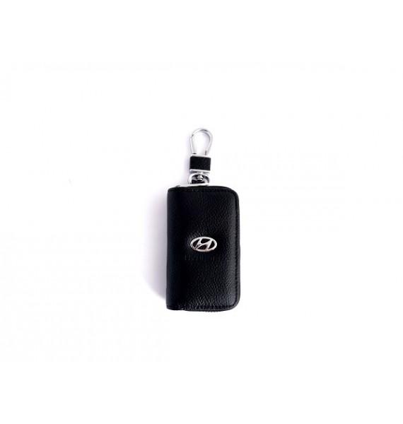 Автоключница из натуральной кожи 602 Avto-Hyundai