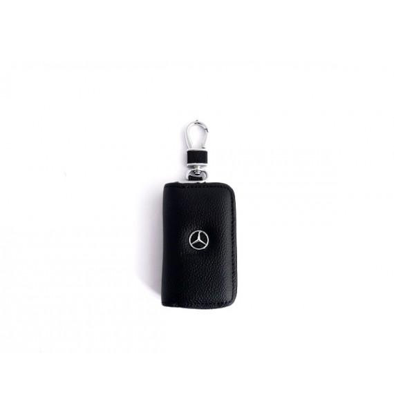 Автоключница из натуральной кожи 602 Avto-Mercedes