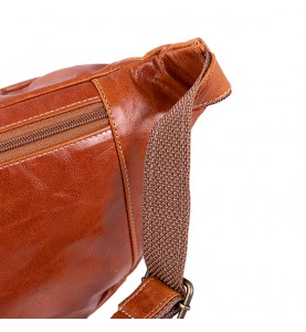 """Мужская поясная сумка из мягкой телячьей кожи от ТМ""""ArtMar"""" AM-V100-0"""