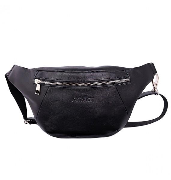 """Мужская поясная сумка из мягкой телячьей кожи от ТМ""""ArtMar"""" AM-V100-2"""