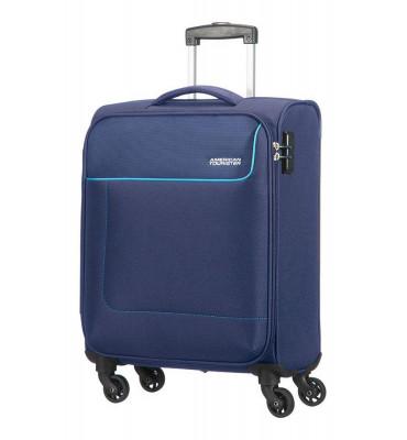 Валіза від American Tourister FUNSHINE , текстиль , Синій/Orion Blue , 40x55x20 см , 36 л , 20G-01002