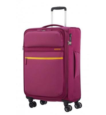 Валіза від American Tourister MatchUP , колір рожевий , поліестер , 40x55x20 см , 42л , 77G-80002