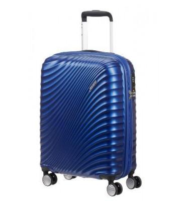 Чемодан 55 см Синий/Metallic Blue JETGLAM American Tourister