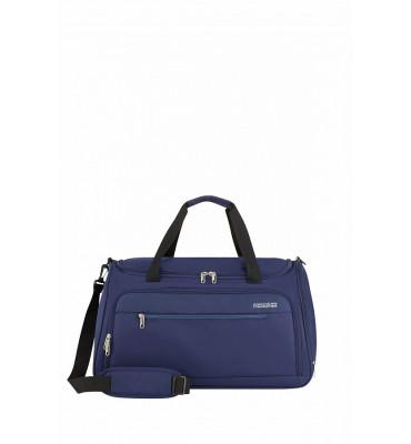 Дорожня сумка HEAT WAVE American Tourister синього кольору , 55x32x31 см / 50 л / гарантія 2 роки