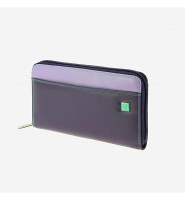 Женский кошелек на молнии из натуральной кожи Colorful Collection Dudubags / размер 19x11x2,5 см