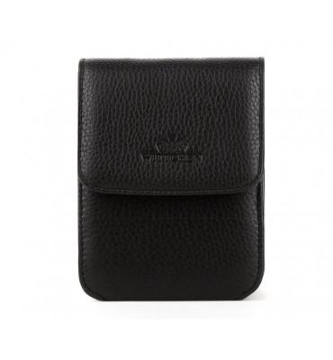 Небольшая мужская сумка из натуральной кожи из коллекции Italy бренда Wittchen (Польша), 14-11,5-6 см