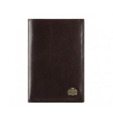 Мужской кожаный кошелек от бренда Wittchen Arizona / размер 14-19-2 см / цвет коричневый