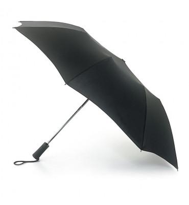 Мужской зонт Fulton, полуавтомат, цвет черный, диаметр купола 97 см, гарантия 1 год.