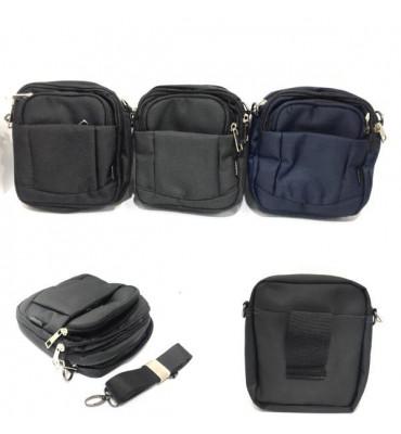 Чоловіча сумка - поясна сумка OR&MI , текстиль , 17*15*6см