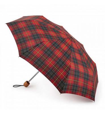 Зонт Fulton Stowaway Deluxe-2 Royal Stewart (Королевский Стюарт), диаметр купола 97 см