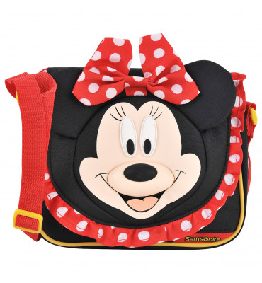Дитяча сумочка Samsonite Minnie Classic , принт Мінні Маус , 19.5 x 17,5 x 9 см