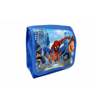 Сумка дитяча, для хлопчиків. Сумка планшет, синього кольору Spider-Man / 14*15*7