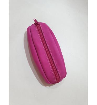 Ключниця з натуральної шкіри ТМ ArtMar , 13.5 x 6 x 3 cм , колір рожевий