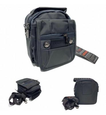 Поясна сумка /  сумка через плече текстильна  / 17.5см*16см*10см / GORANGD / 97
