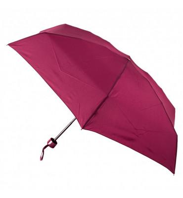 Женский мини зонт Fulton Soho-1 Wine (винный цвет), механика, диаметр купола 94 см