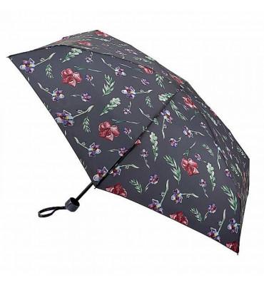 Женский мини зонт Fulton Soho-2 Nedas Flower (Цветок Неди), механика, диаметр купола 94 см