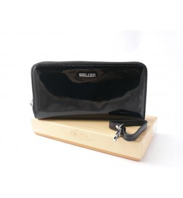 Женский лаковый кошелек Baliya / натуральная кожа / размер 10-19.5-2 см / код D6011-1