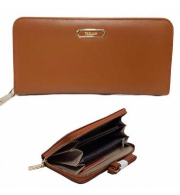 Женский кошелек на молнии Tailian / экокожа / размер 19.5*10-2.5 см / код AM-T9612-009-3