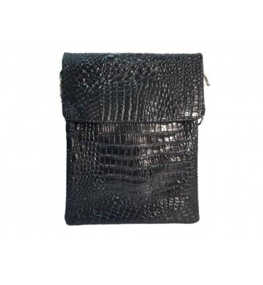 Мужская сумка натуральная кожа MIC 84117 26х20,5х4 черная