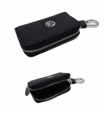 Авто-ключница / чехол для ключей от автомобиля из натуральной кожи  VOLKSWAGEN / 602 / 9*5,5*2
