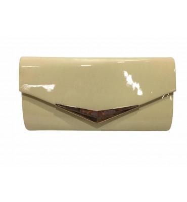 Клатч женский эко-кожа 012 13х25.5х4.5 бежевый