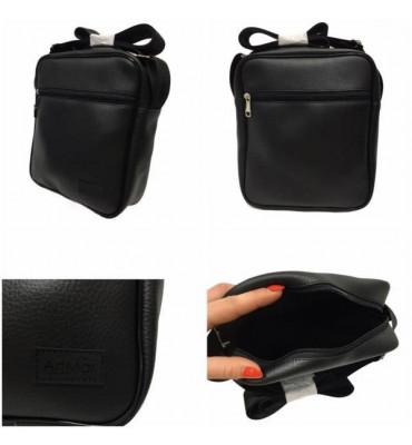 Сумка мужская, сумка через плечо с качественной эко-кожи / ArtMar / размер:22.5*18.5*6см. Код: AM-V004-13