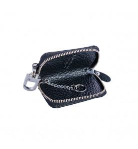 Авто-ключница / чехол для ключей от автомобиля из натуральной кожи Kia / 602 / 9*5,5*2