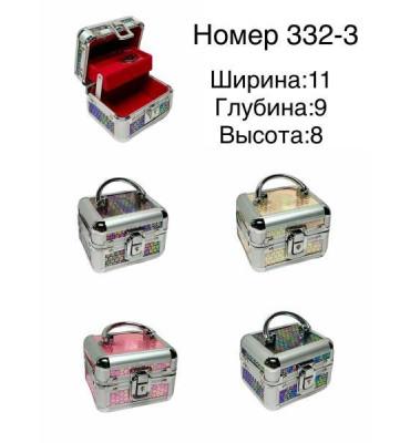 Шкатулка для украшений 332-3 11х9х8