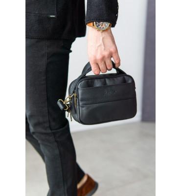 Мужская сумка- барсетка из натуральной кожи от ТМ