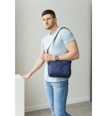 Большая, мужская спортивная сумка, текстиль / ArtMar / 20 * 26,5 *9см / AM V004-9