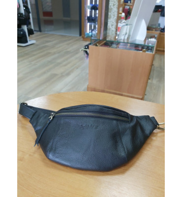 Мужская поясная сумка из мягкой телячьей кожи от ТМ