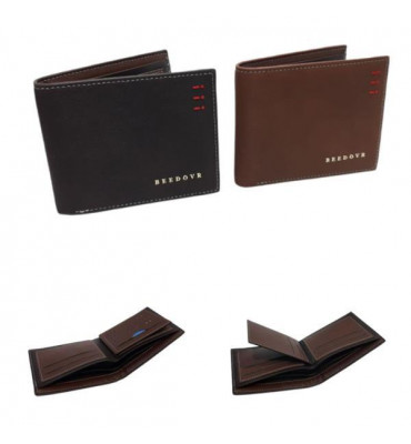Мужской кошелек эко-кожа  А651 11.5х9.5х2.5