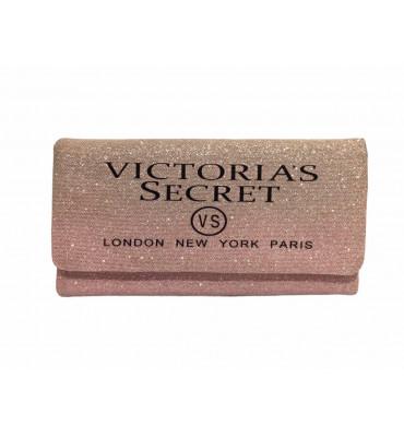 Кошелек женский текстиль Victoria's Secret VS001-Pink 9х19х3 пудра