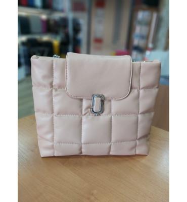 Женская сумка из качественной экокожи, 33-26-11 см, цвет черный