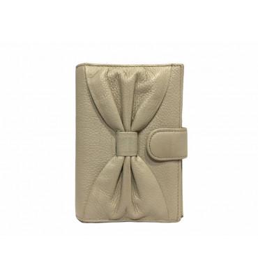 Обложка для паспорта натуральная кожа F.Salfeite 12198 14х10х1 черная белый